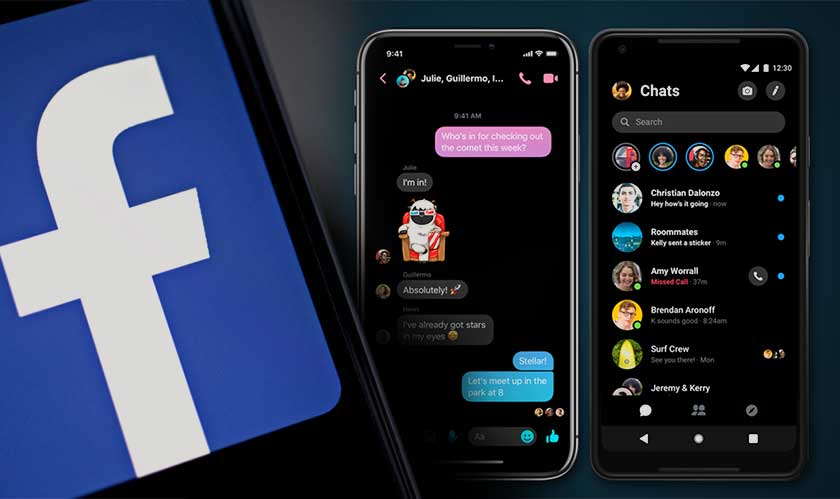 Facebook is finally launching dark mode to mobile app