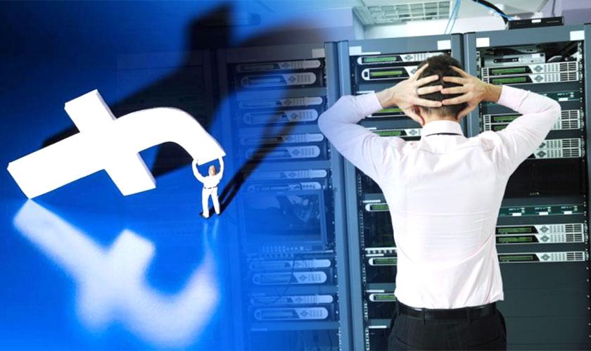 facebook server software problem