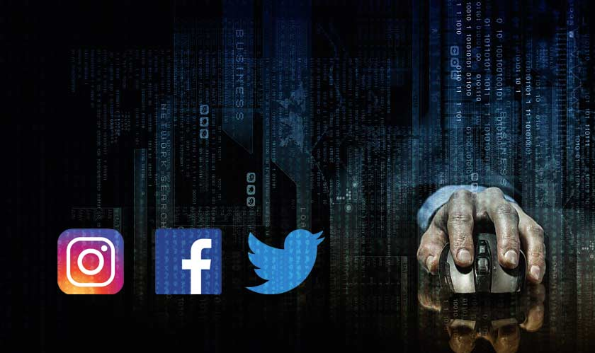Facebook's Twitter and Instagram handles hacked