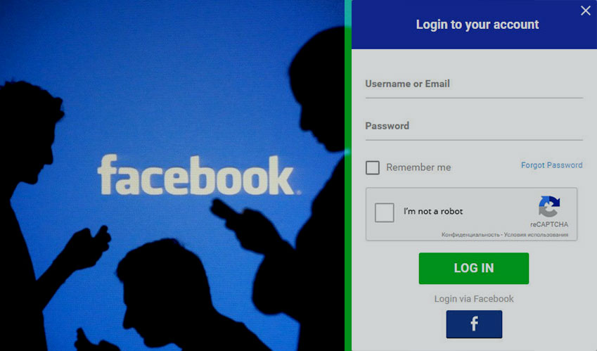 cyber security facebook authentication account login