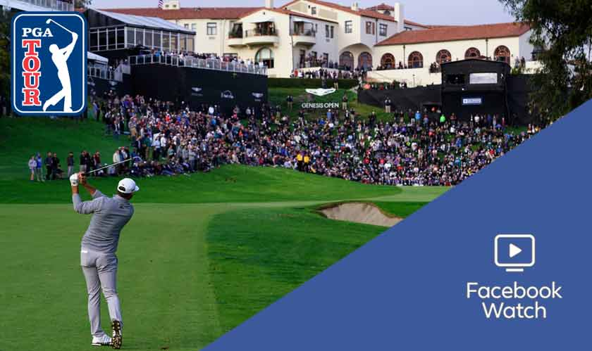 Facebook Watch signs global content deal with PGA tour