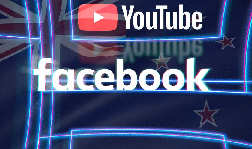 New Zealand wants a response from Facebook and YouTube