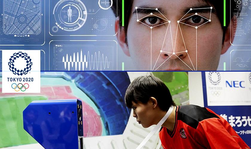 facial recognition at tokyo olympics