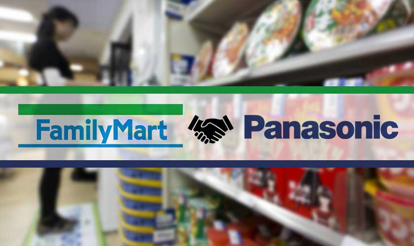 familymart partners with panasonic