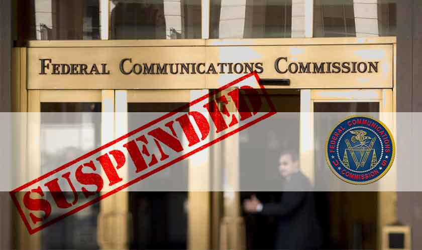 Continued Governmental shutdown may suspend FCC operations