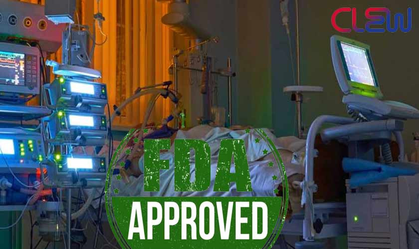 FDA approves CLEW Medical's new Artificial Intelligence ICU solution