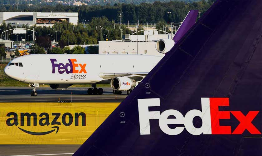 FedEx decides to end its contract with Amazon