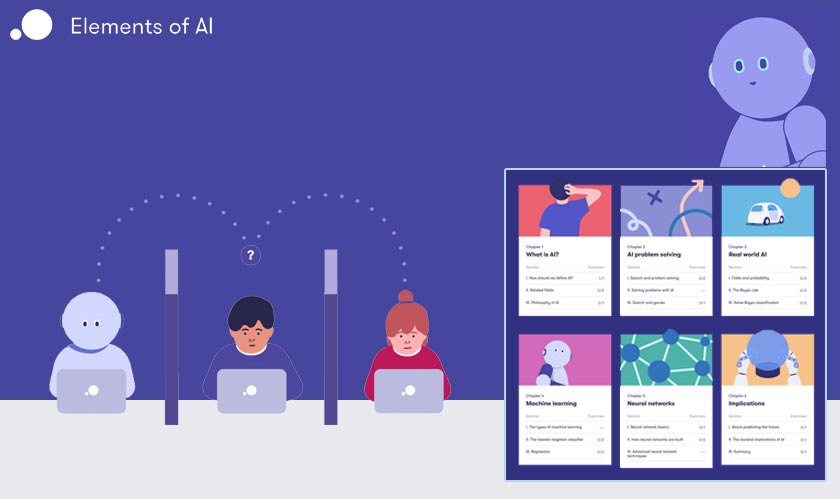 it services finland ai course free
