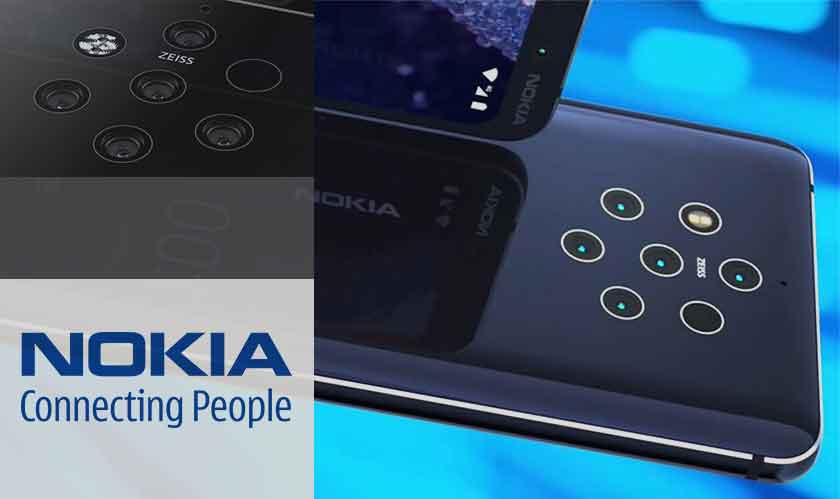 5 cameras in nokia 9 pureview