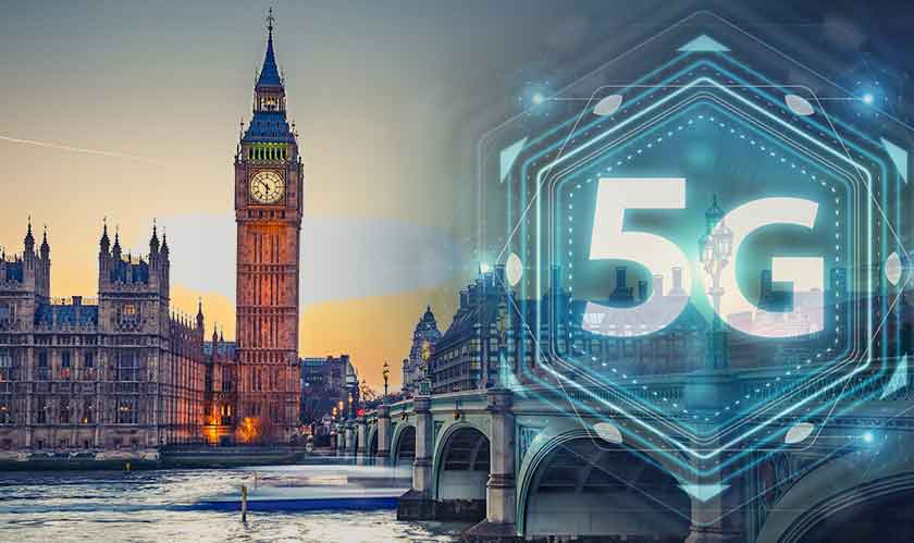 5G is debuting in the UK today