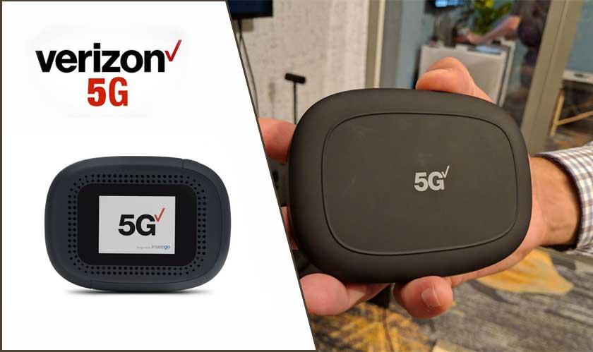 Verizon releases its first $650 5G hotspot