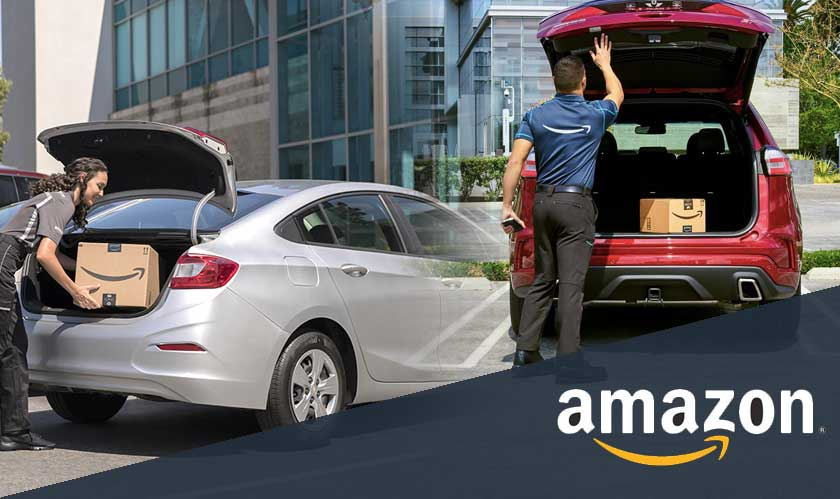 Amazon's in-car delivery service available to Ford and Lincoln