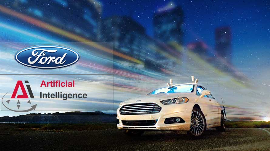 ford ventures into robotics and ai