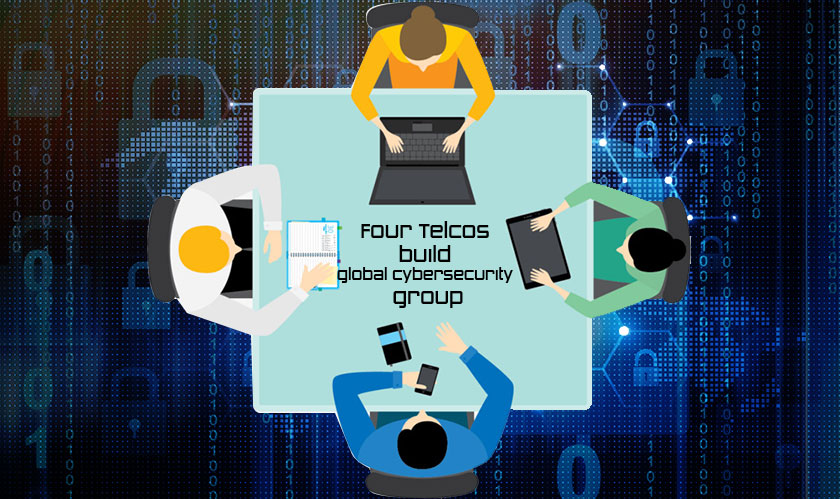 Four Telcos build global cybersecurity group