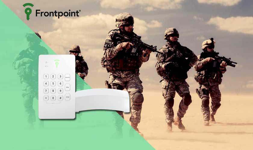 frontpoint available in military exchanges