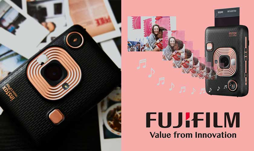 Fujifilm surprises Instax Mini LiPlay with audio in camera