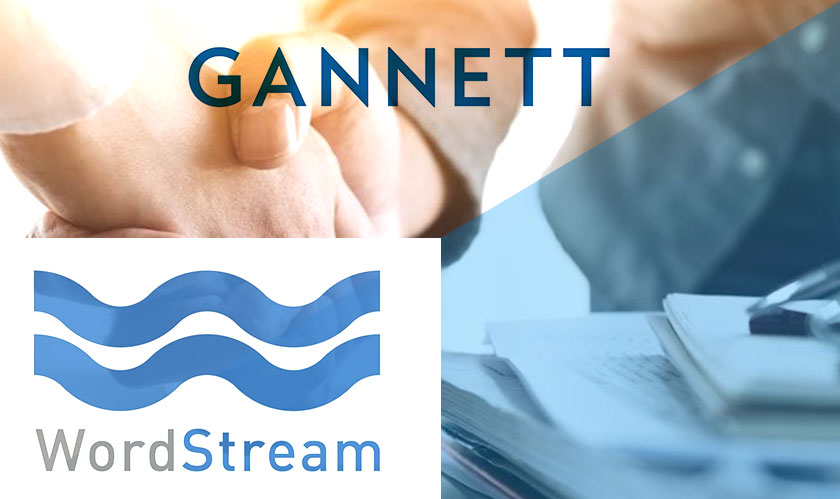 Gannett to acquire WordStream