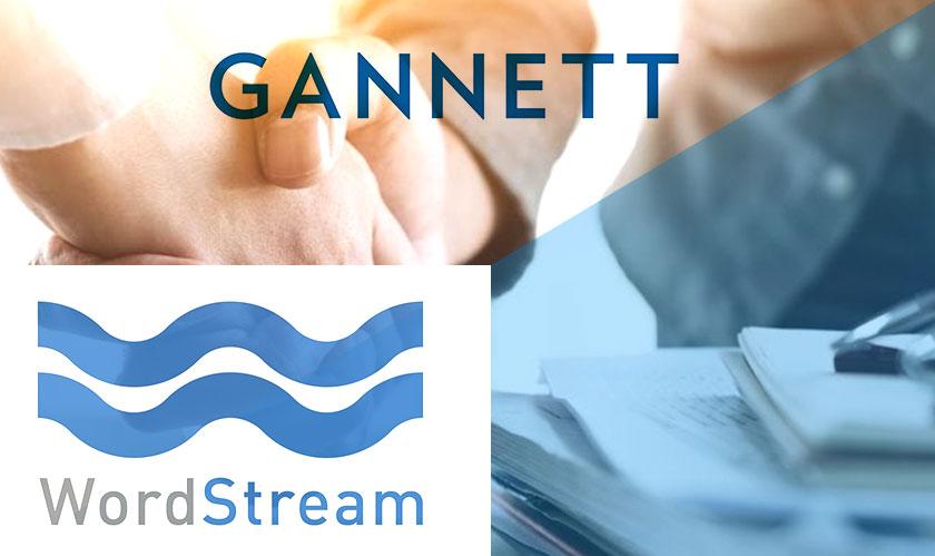 gannett acquires wordstream