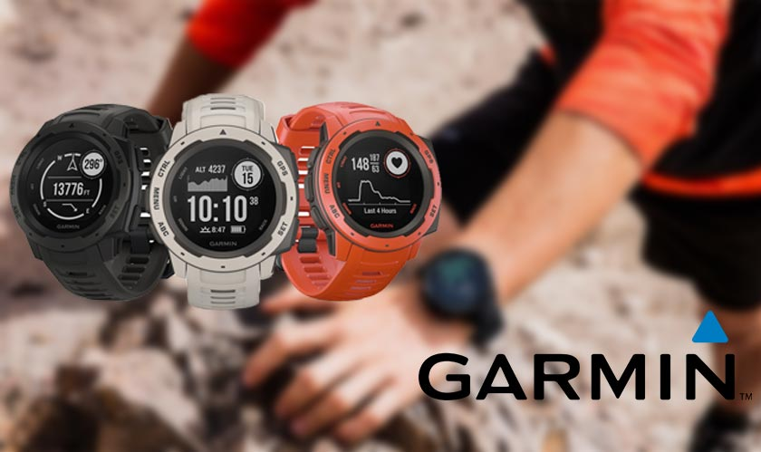 Going outdoors? Check out the new Garmin Instinct Smartwatch