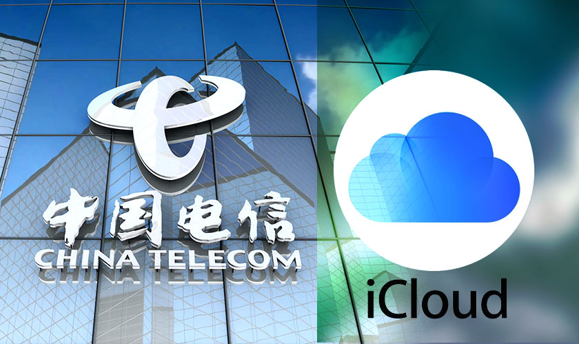 China Telecom to host iCloud data