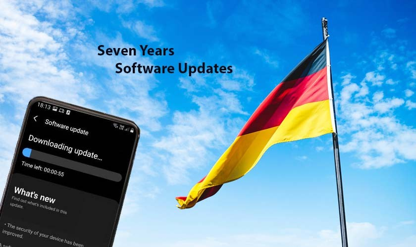 Germany wants smartphone companies to provide seven years of software updates