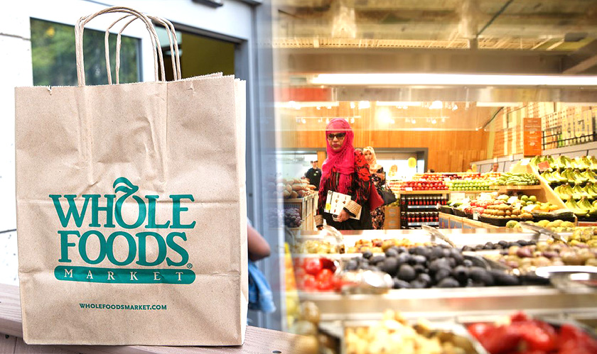 Get Whole Foods delivered through Amazon Prime Now