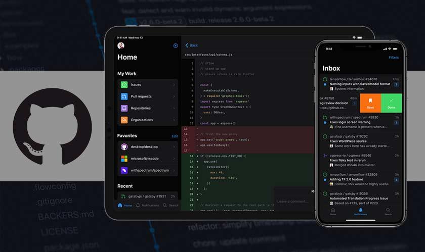 mobile github mobile app