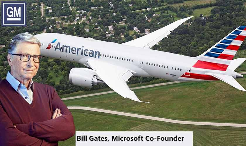 American Airlines, General Motors, and Microsoft join Bill Gates initiative