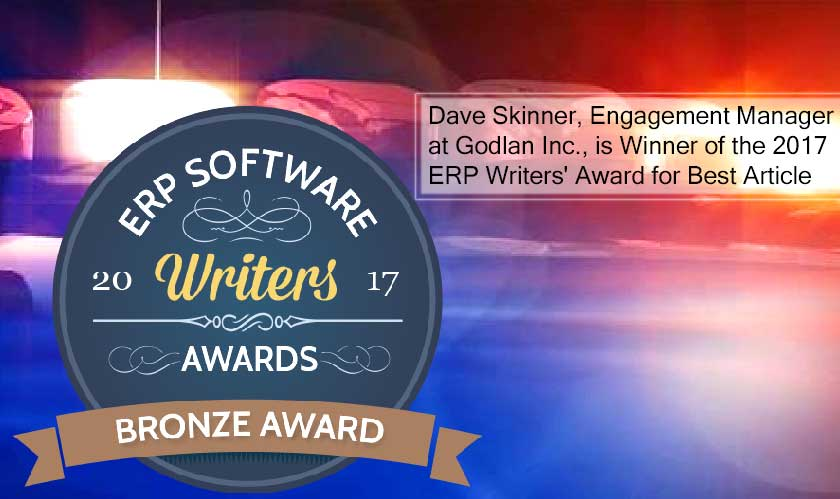 Godlan engagement manager receives a prestigious award!