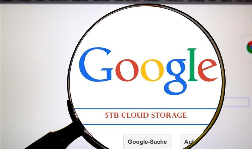 Google unveils a new 5TB cloud storage plan