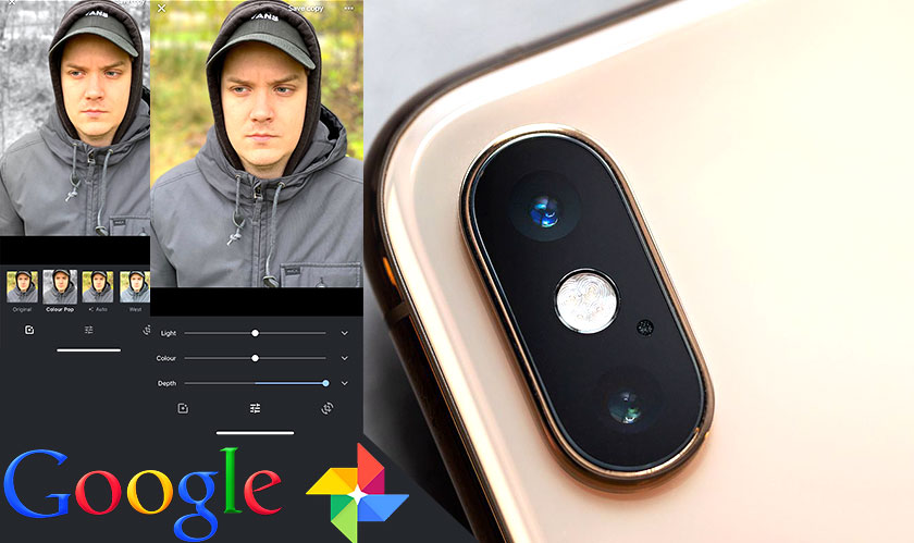 google adds portrait depth