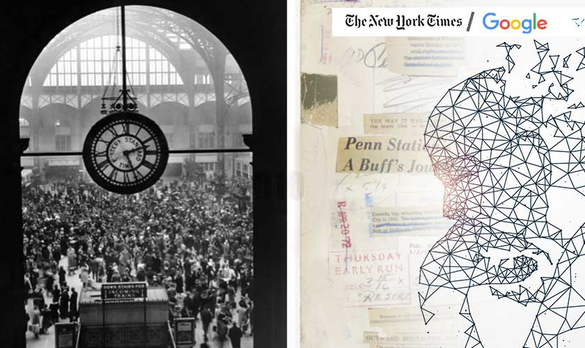 NYT seek Google's help to digitize and sort historical photos