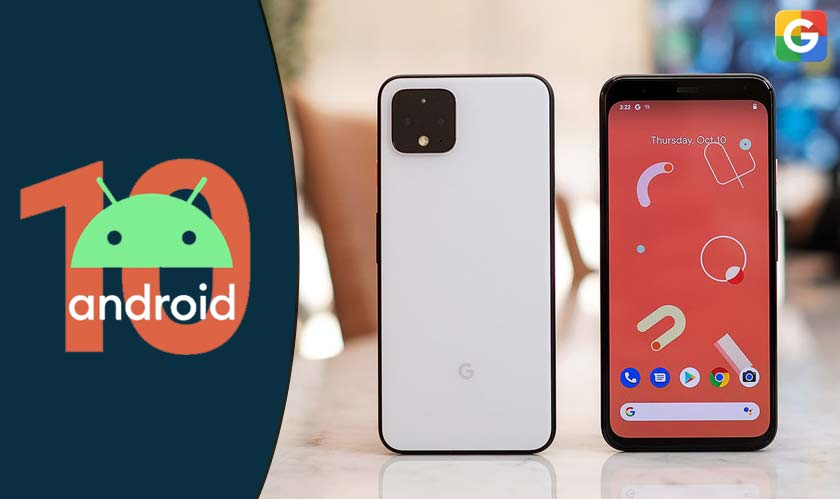 google android 10 pixel 4