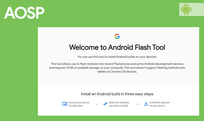 Google introduces Android flash tool for developers
