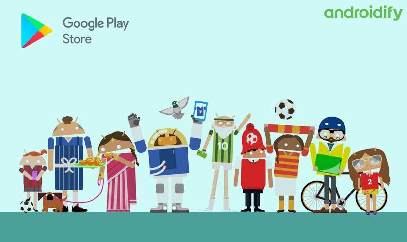 google androidify avatar maker playstore