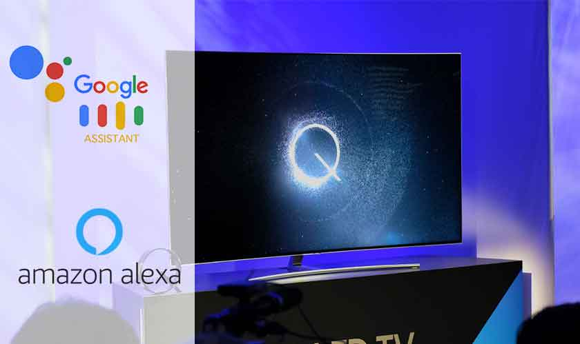 Samsung TVs in 2019 will have Google Assistant and Alexa
