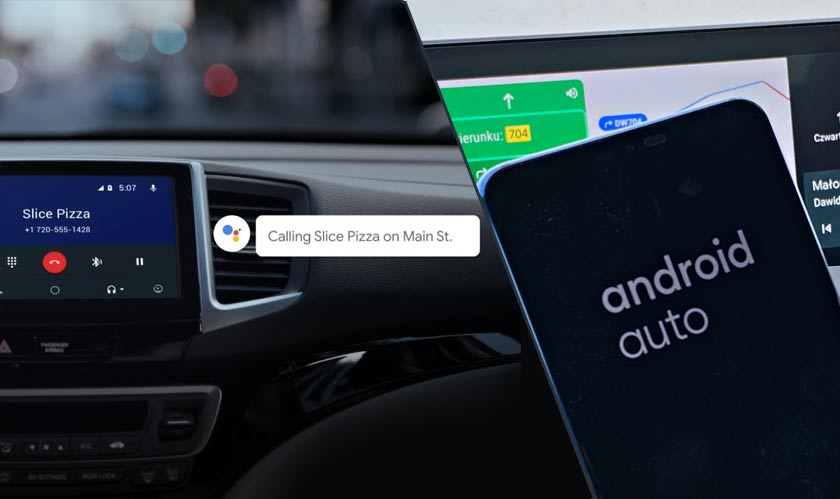 google assistant android auto ai