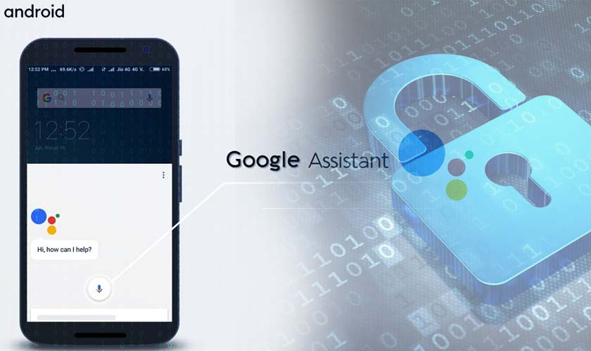 google assistant android security