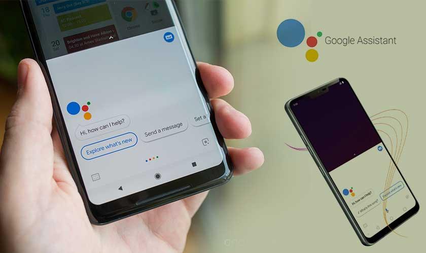 google assistant gets a button