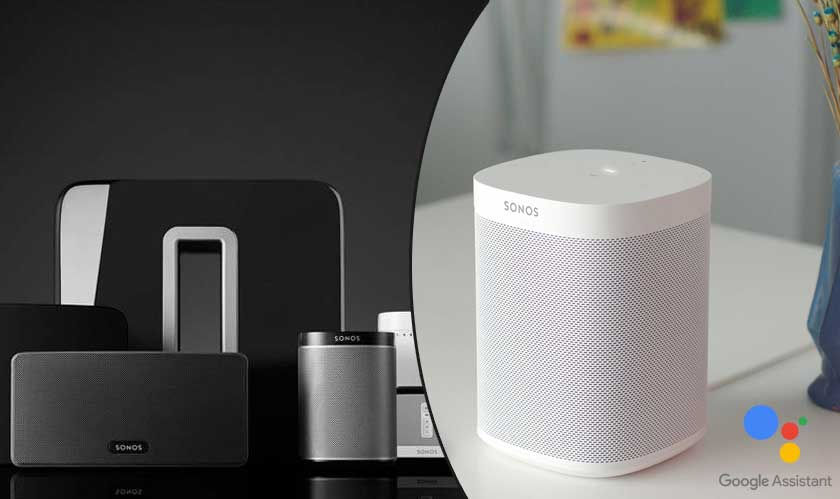 google assistant on sonos speaker