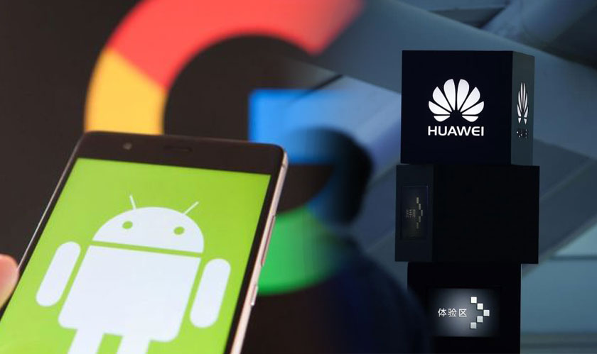 google cancels huawei android license