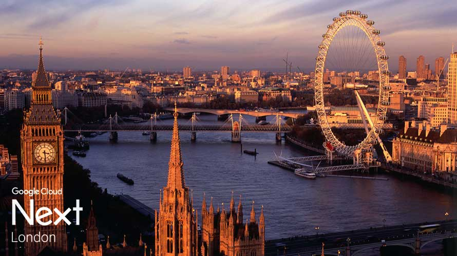 google cloud is coming to london