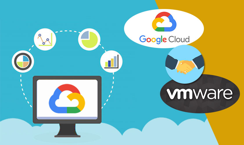 Google announces a cloud partnership with VMware