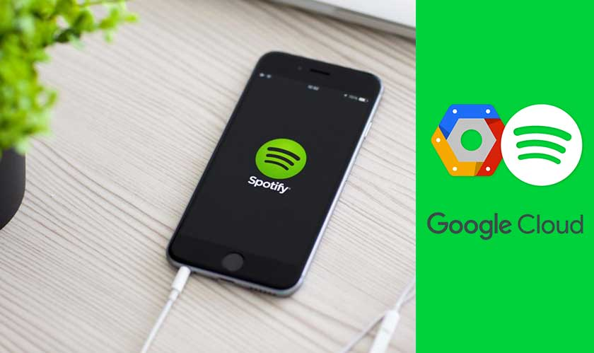 Google competes Spotify in music streaming, but why does Spotify rely somuch on Google's cloud?