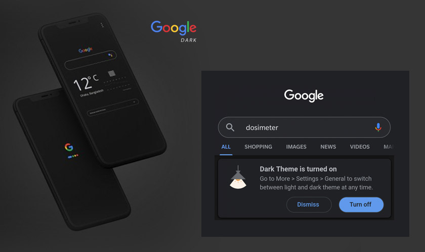 Google app dark mode is now available to all beta users