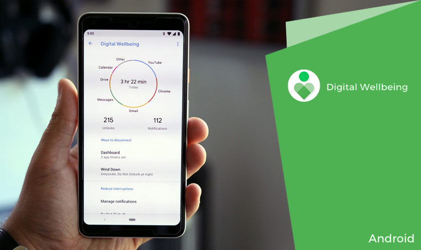google digital wellbeing android