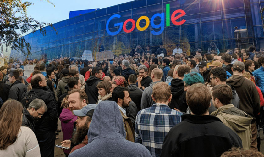 Google employees' worldwide walkout; set an example in the tech industry