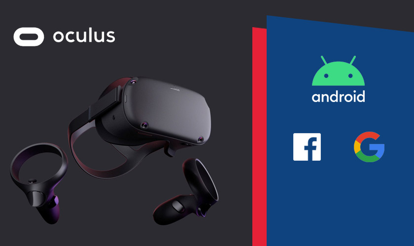 software google facebook oculus android