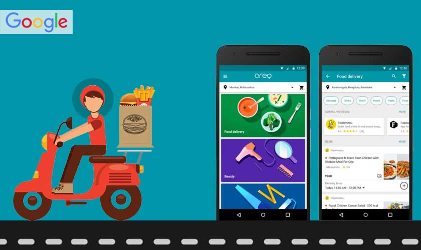 """Food comes home on Google """"without"""" a delivery app"""