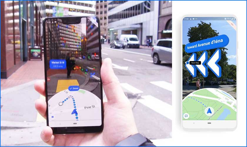 google launches live view